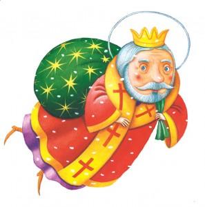 Святого миколая і діда мороза діти